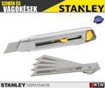 Stanley INTERLOCK fémházas tördelhető pengés kés 18mm  - szerszám