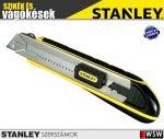 Stanley FATMAX fémházas tördelhető pengés kés fémmegvezetéses 25mm - szerszám