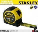Stanley FATMAX mérőszalag extra széles 8m×32mm     - szerszám