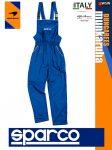 Sparco DUNGAREES BLUE premium szerelő kantáros nadrág - munkaruha
