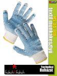 Fridrich HS-04-0118 textil kötött munkakesztyű