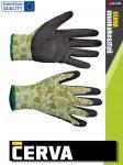 Cerva PINTAIL textil latex-mártott kesztyű - munkakesztyű