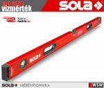 Sola BIG RED3 prémium vízmérték - szerszám