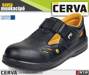 Cerva RAVEN ESD S1 munkaszandál munkacipő munkaruha
