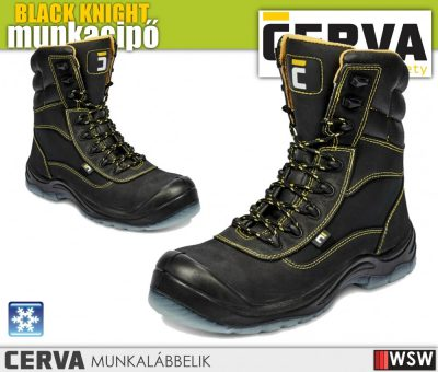 Cerva BLACK KNIGHT S3 CI bélelt munkabakancs munkavédelmi bakancs