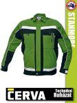 Cerva STANMORE GREEN kabát - munkaruha