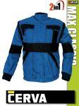 Cerva MAX BLUE 2in1 kabát - munkaruha