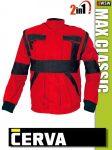 Cerva MAX BLACK 2in1 kabát - munkaruha