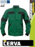 Cerva MAX SUMMER GREEN pamut technikai kabát - munkaruha