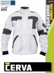 Cerva MAX SUMMER WHITE pamut technikai kabát - munkaruha