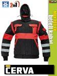 Cerva MAX REFLEX 2in1 láthatósági bélelt kabát - munkaruha