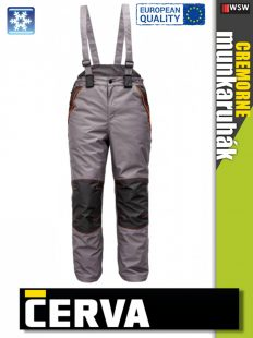 RODD (Cerva) bélelt fekete nadrág   Munkaruha Webáruház