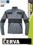 Cerva MAX NEO GREY pamut 2in1 levehető ujjas technikai kabát - munkaruha
