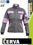 Cerva MAX SUMMER LADY GREY pamut női technikai kabát - munkaruha