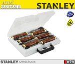 Stanley BAILEY fanyelű véső készlet 6db - szerszám