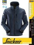 Snickers ALLROUNDWORK NAVY technikai polárbélésű softshell kabát - munkaruha