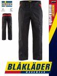 Blåkläder INDUSTRY BLACK-RED technikai iparI deréknadrág - Blakleder munkaruha
