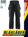 Blåkläder CRAFTSMEN X1500 BLACK pamut technikai bélelt deréknadrág - Blakleder munkaruha