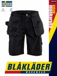 Blåkläder CRAFTSMEN X1500 BLACK könnyített technikai rövidnadrág - Blakleder munkaruha