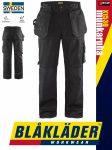 Blåkläder CRAFTSMEN X1500 BLACK kevertszálas technikai deréknadrág - Blakleder munkaruha