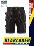 Blåkläder CRAFTSMEN X1500 BLACK pamut technikai rövidnadrág - Blakleder munkaruha