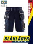 Blåkläder CRAFTSMEN X1500 DARKNAVY öko-textil technikai rövidnadrág - Blakleder munkaruha