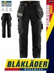 Blåkläder CRAFTSMEN X1500 BLACK öko-textil technikai deréknadrág - Blakleder munkaruha
