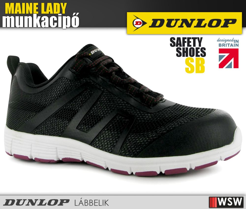 e8fb3fd528 Dunlop MAINE LADY SB női munkacipő - munkabakancs - munkaruha ...