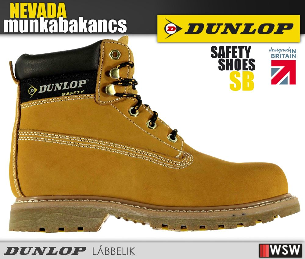Dunlop férfi bakancs védőbetéttel munkacipő munkaruha munkabakancs ... 265a75f6ac