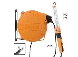 Automata kábeldob LED szerelőlámpával, 24 Vac_1846XABM