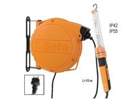 Automata kábeldob LED szerelőlámpával 230Vac_1846XBM