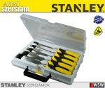 Stanley véső készlet 6,12,18,25,32mm - szerszám