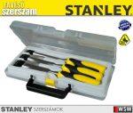 Stanley véső készlet 10,15,20mm - szerszám