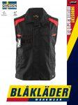 Blåkläder INDUSTRY BLACK_RED technikai ipari munkamellény - Blaklader munkaruha