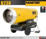 Master B230 gázolajjal üzemeltetett hőlégfúvó - 65 kW