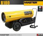 Master B180 gázolajjal üzemeltetett hőlégfúvó - 48 kW