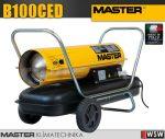Master B100CED gázolajjal üzemeltetett hőlégfúvó - 29 kW
