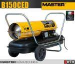 Master B150CED gázolajjal üzemeltetett hőlégfúvó - 44 kW