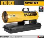 Master B70CED gázolajjal üzemeltetett hőlégfúvó - 20 kW
