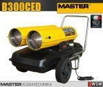 Master B300CED gázolajjal üzemeltetett hőlégfúvó - 88 kW