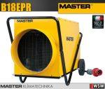 Master B18EPR elektromos hőlégfúvó - 18kW