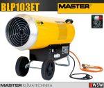 Master BLP103ET PB gázzal üzemeltetett hőlégfúvó - 103 kW