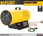Master BLP53ET PB gázzal üzemeltetett hőlégfúvó - 53 kW