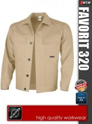 Qualitex FAVORIT 320 kabát - munkaruha
