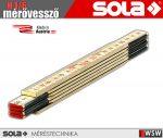 Sola H 1/6 fa mérővessző zollstock 1 méter - szerszám