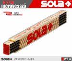 Sola H 2/10 fa mérővessző zollstock 2 méter - szerszám