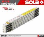 Sola HF 2/10 fa mérővessző zollstock 2 méter - szerszám