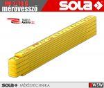 Sola HK 2/10 műanyag mérővessző zollstock 2 méter - szerszám