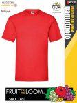 Fruit of the Loom Valueweight T-Shirt póló polonagyker