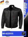 Qualitex PRO 245 BLACKBLACK prémium technikai kabát - munkaruha